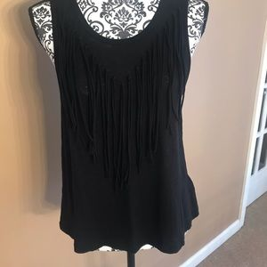 Express tank with fringe.